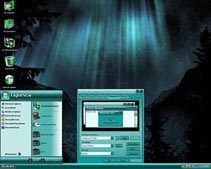 aurora theme for xp